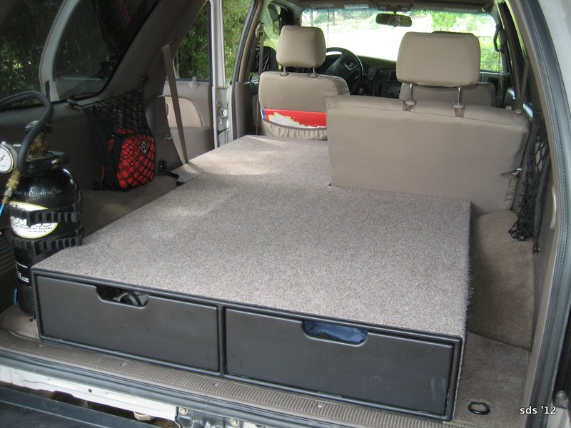 Sds 98 4runner Storage And Sleep Platform